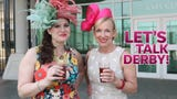 What can and can't you bring to the Churchill Downs racetrack Kentucky  Derby weekend?  Let's Talk Derby - Kathryn and Kirby have you covered.