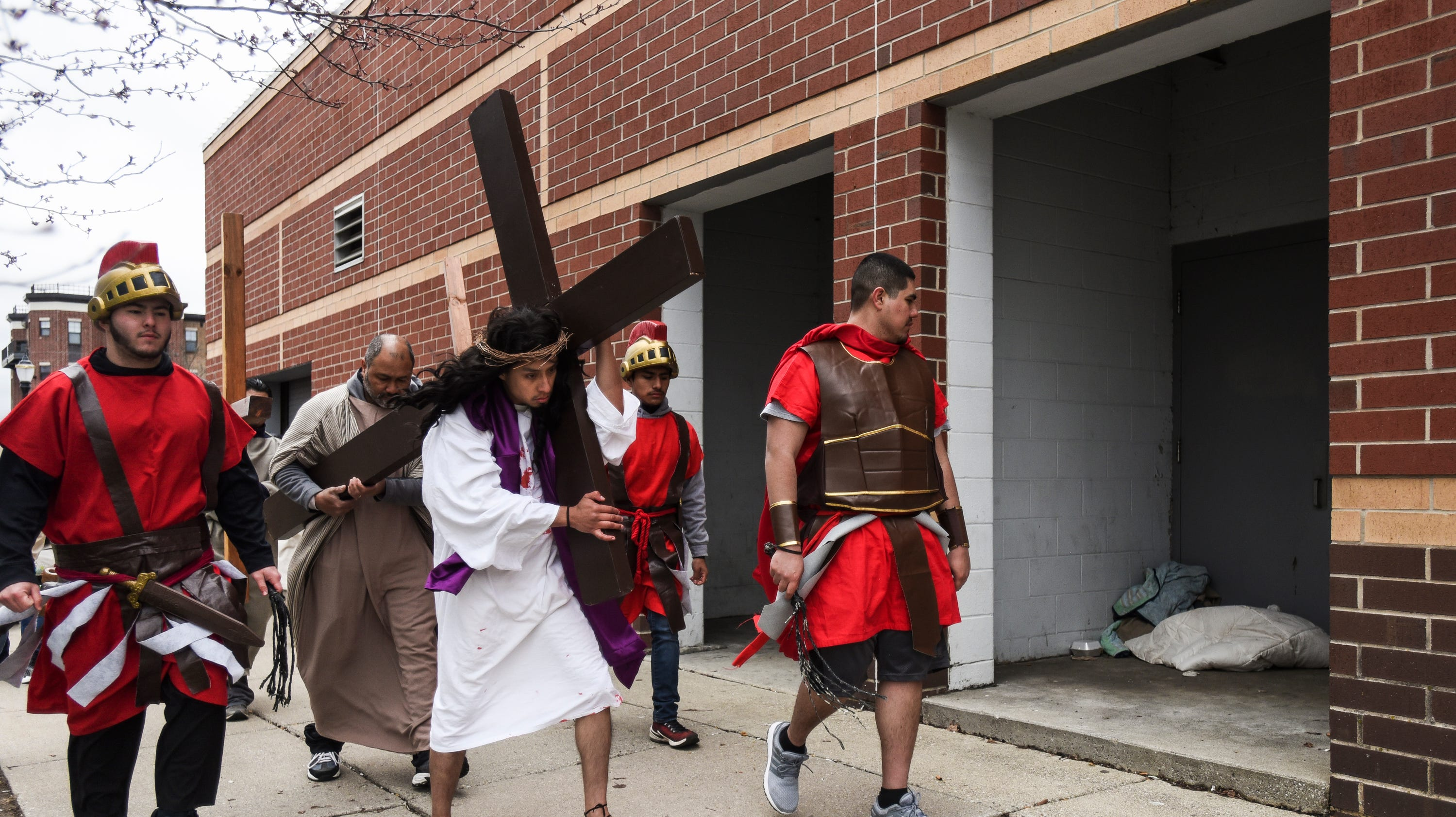 """Cristo Rey's """"Stations of the Cross"""""""
