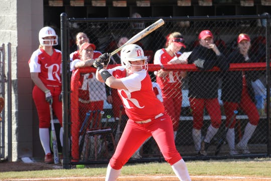 Rhodes College senior catcher Kendall Henry was named the Southern Athletic Association Softball Player of the Week. She is the Lynx all-time leader in doubles and RBIs.