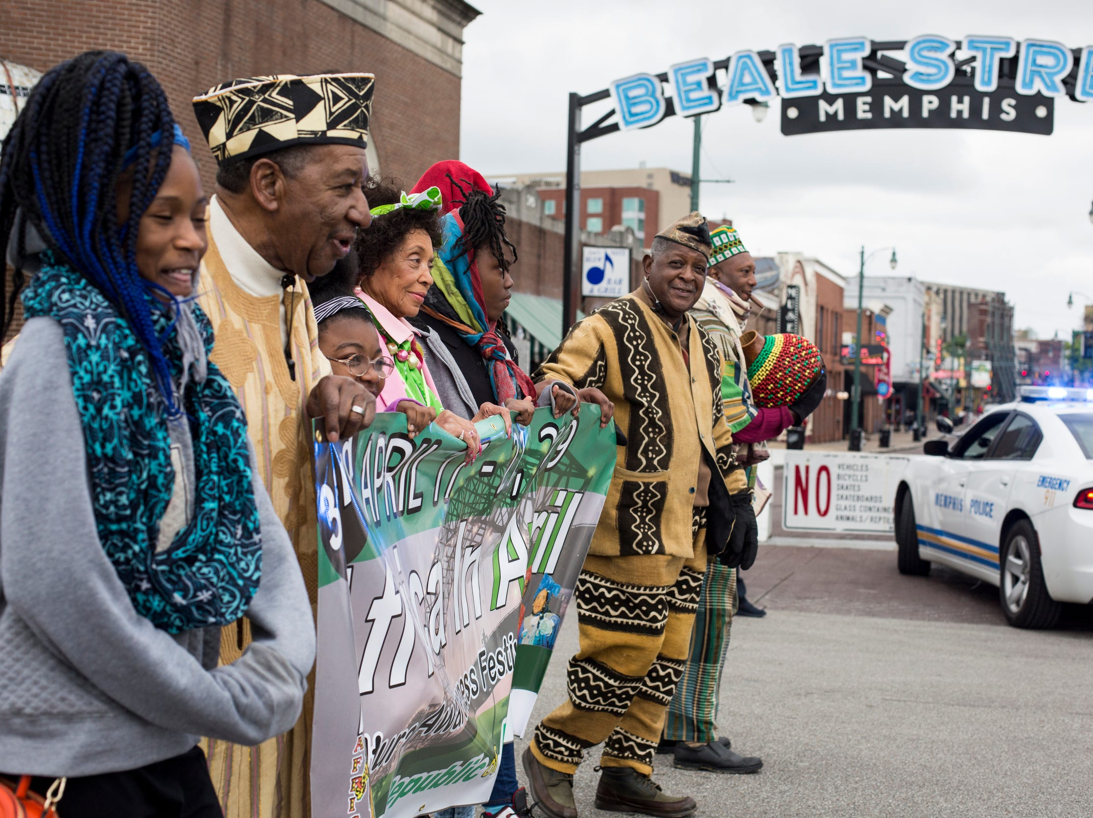 The Africa in April International Diversity Parade was held on Friday, April 19, 2019, in downtown Memphis. The 33rd annual Africa in April Cultural Awareness Festival runs through April 21 at Robert Church Park.