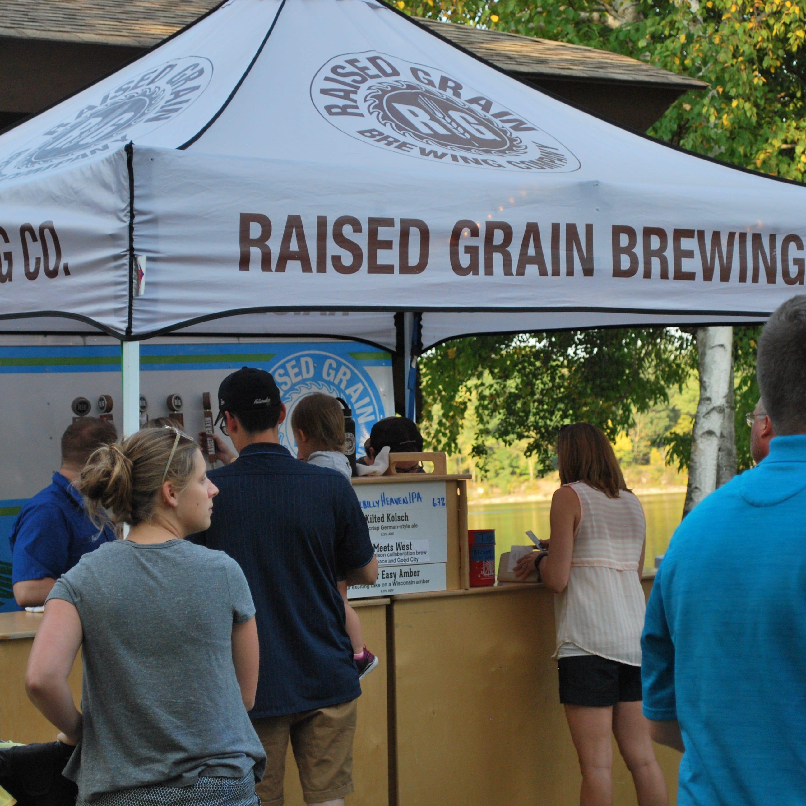 More traveling beer gardens: Black Husky in Washington County and Raised Grain in Waukesha County