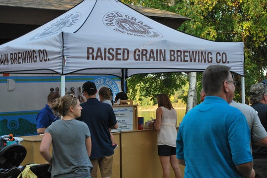 Raised Grain heads back to Waukesha County parks for its Pop-Up Beer Garden starting in May.