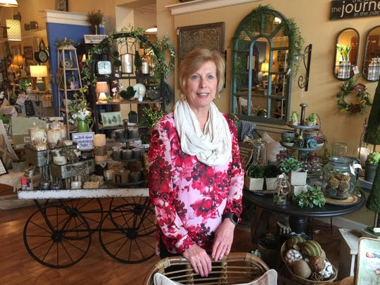 Jean Niebler has owned La Belle Legacy in Oconomowoc for nearly eight years.