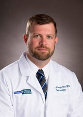 Nathan Zwagerman, MD, neurosurgeon at Froedtert & the Medical College of Wisconsin Froedtert Hospital.