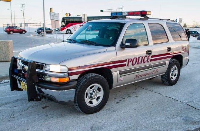 A Menomonee Falls police vehicle.