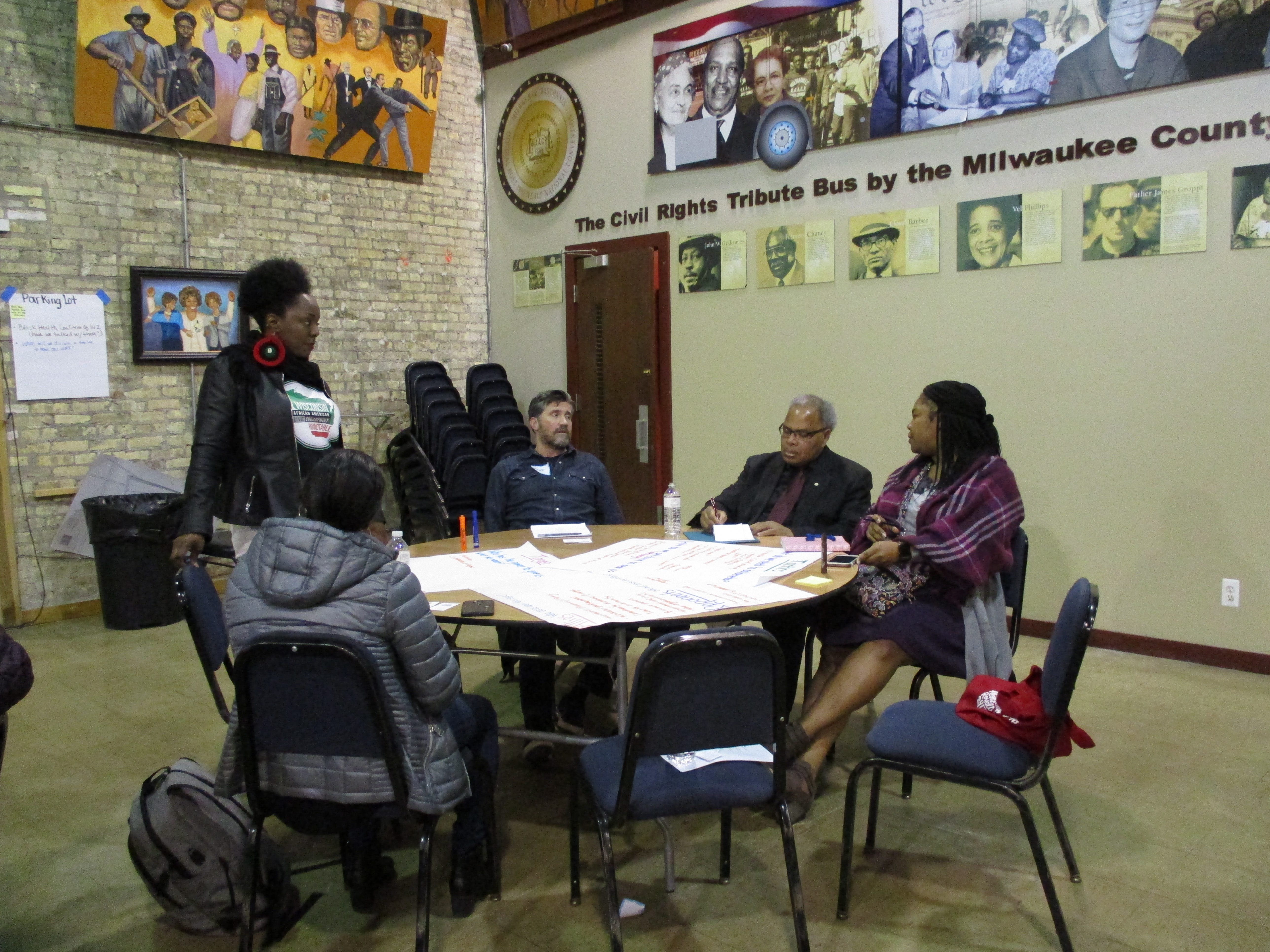 Activists and residents concerned about lack of communication from Ascension Wisconsin on St. Joseph hospital