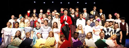 Students from the Mountain Home Christian Academy and Homestyle Christian Educators will present Mary Poppins Jr. at 7 p.m. Saturday, Aprll 27, and 2 p.m. Sunday, April 28. at Dunbar Auditorium on the campus of Mountain Home High School.