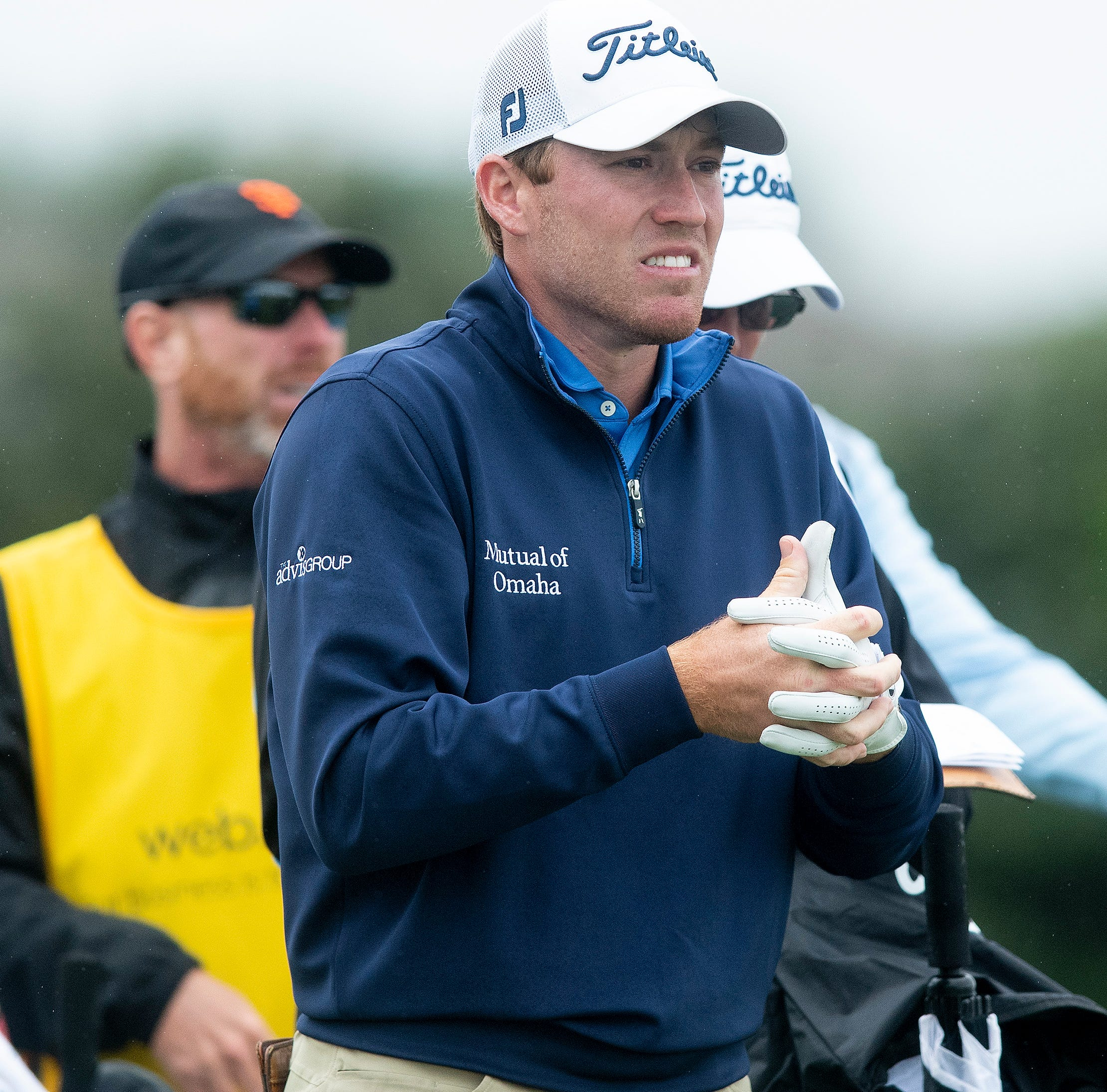 On the hunt: Shelton shines in cold, windy RTJ second round