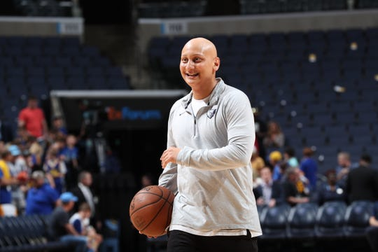 Memphis Grizzlies assistant coach Adam Mazarei has been hired at Vanderbilt.