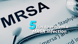 MRSA (pronounced mer-sa) is a type of bacteria that is usually harmless but could cause skin infections. It's contagious, so here five ways to prevent a MRSA infection.