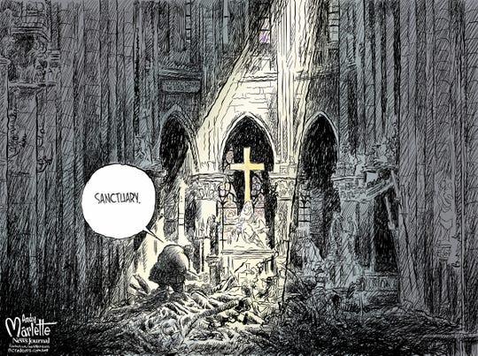 Notre Dame Sanctuary