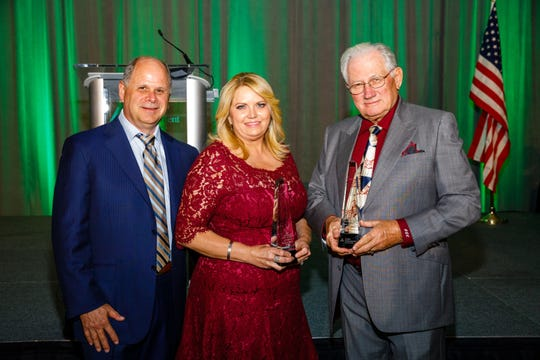 Scott and Diana Willis and Dave Copham and  were named to the  Junior Achievement Hall of Fame on Thursday, April 18, 2019 at the Hyatt Regency Coconut Point in Bonita Springs.