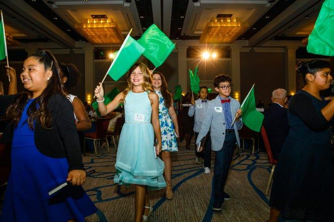 Scenes from the Junior Achievement Awards ceremony on Thursday, April 18, 2019 at the Hyatt Regency Coconut Point in Bonita Springs.