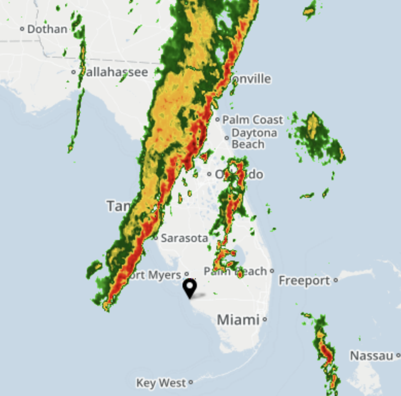 National Weather Service issues severe thunderstorm watch for Collier and Lee until 10 p.m.