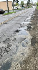 A section of South 21st Street, just north of the railroad tracks, will be resurfaced this year.