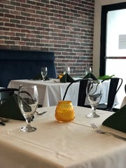 The dining room of Green Fusion, a new vegetarian restaurant in Ridgewood