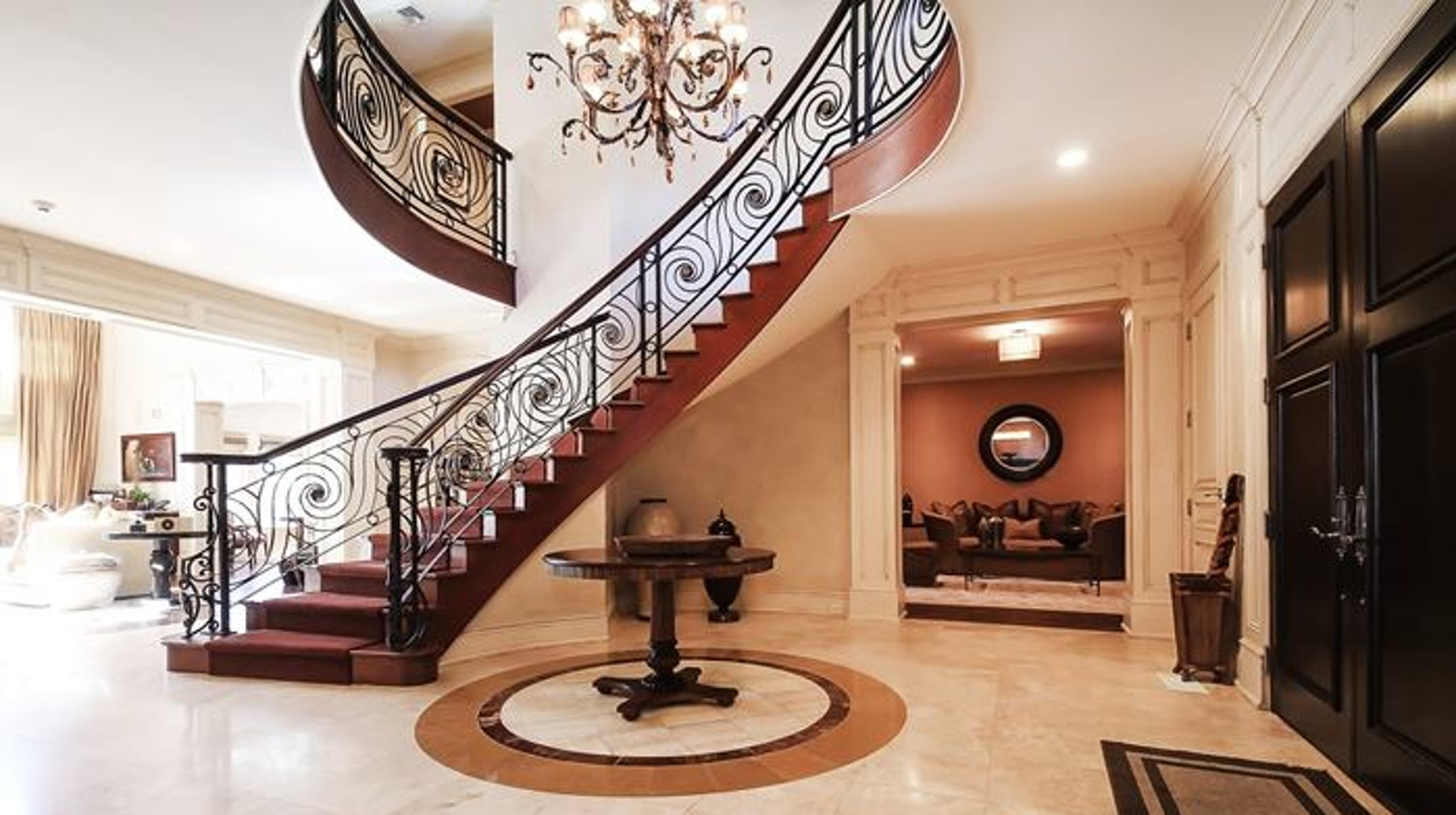 Patrick Ewing Cresskill Nj Mansion Is Available To Rent For