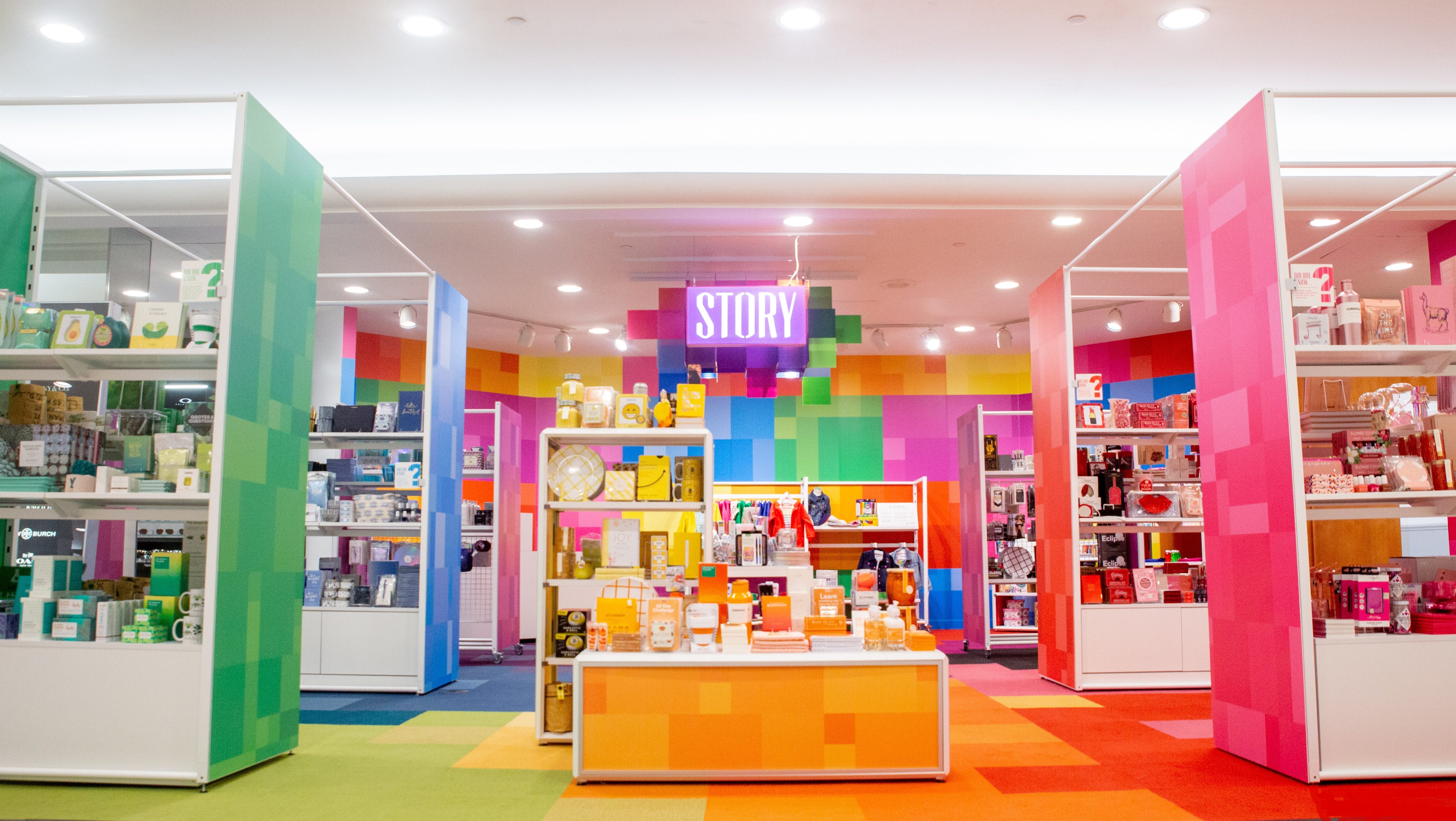 Macy's, tinkering with shopper experience, launches Story concept at stores in NY and NJ