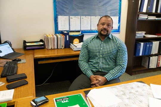 Michael Lovato is the superintendent of Questa School District. He's the fifth person on the job in two years.