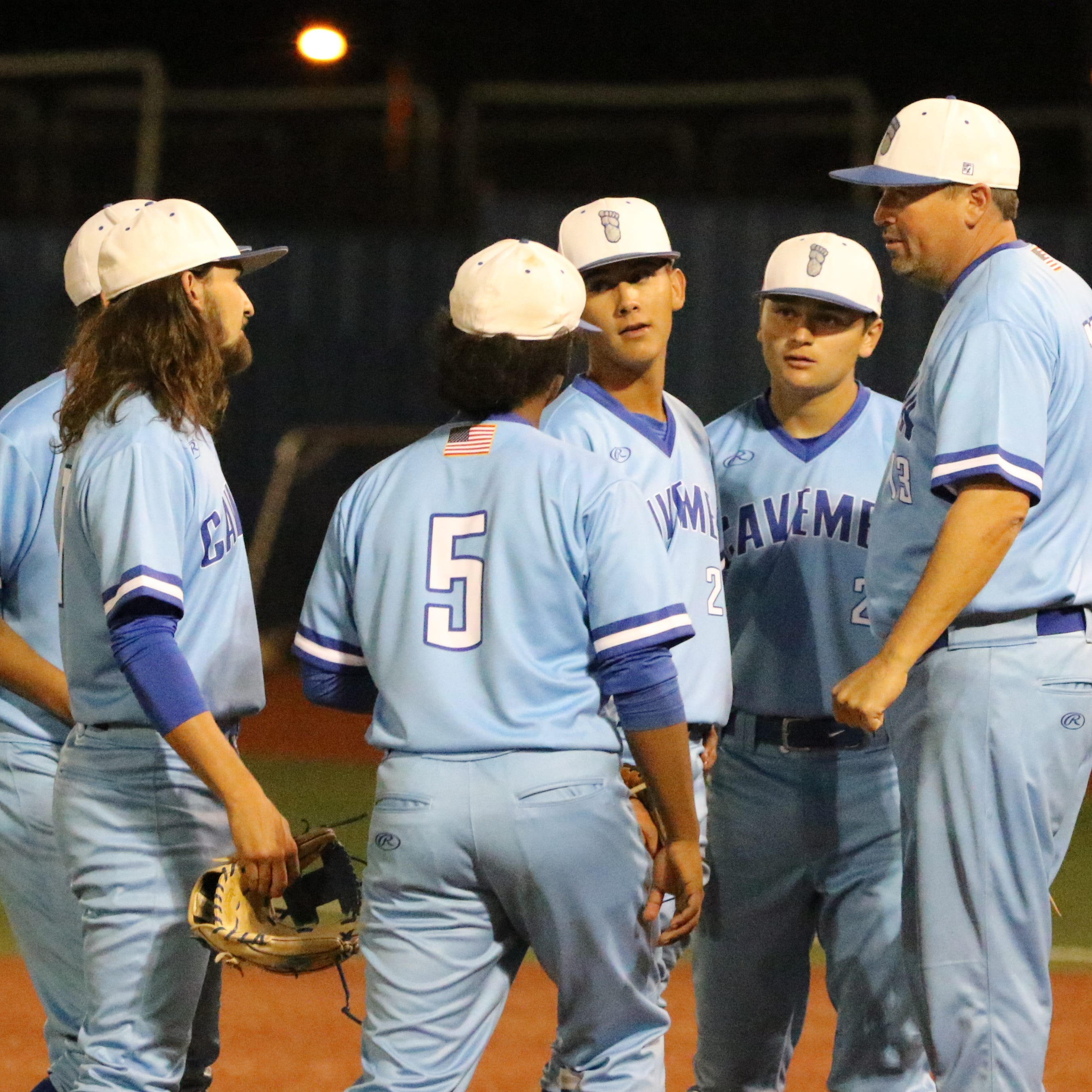 Devil's in the Details: Patience and pitching lead to Cavemen sweeping Clovis