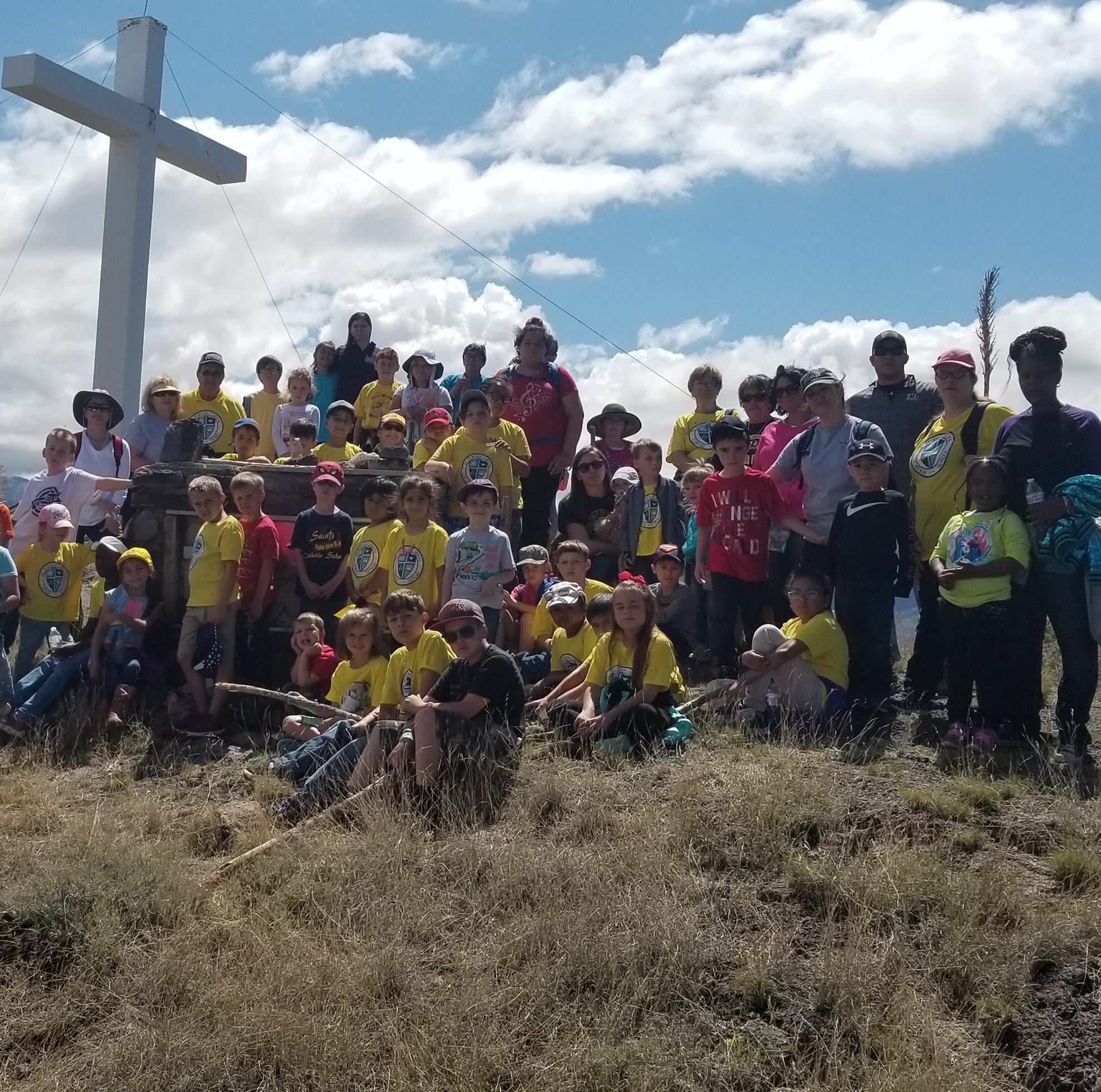 St. Frances Cabrini School takes field trip to do Stations of the Cross
