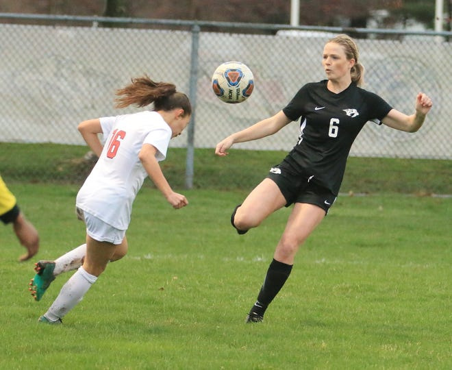 Plymouth soccer took on Canton this week.