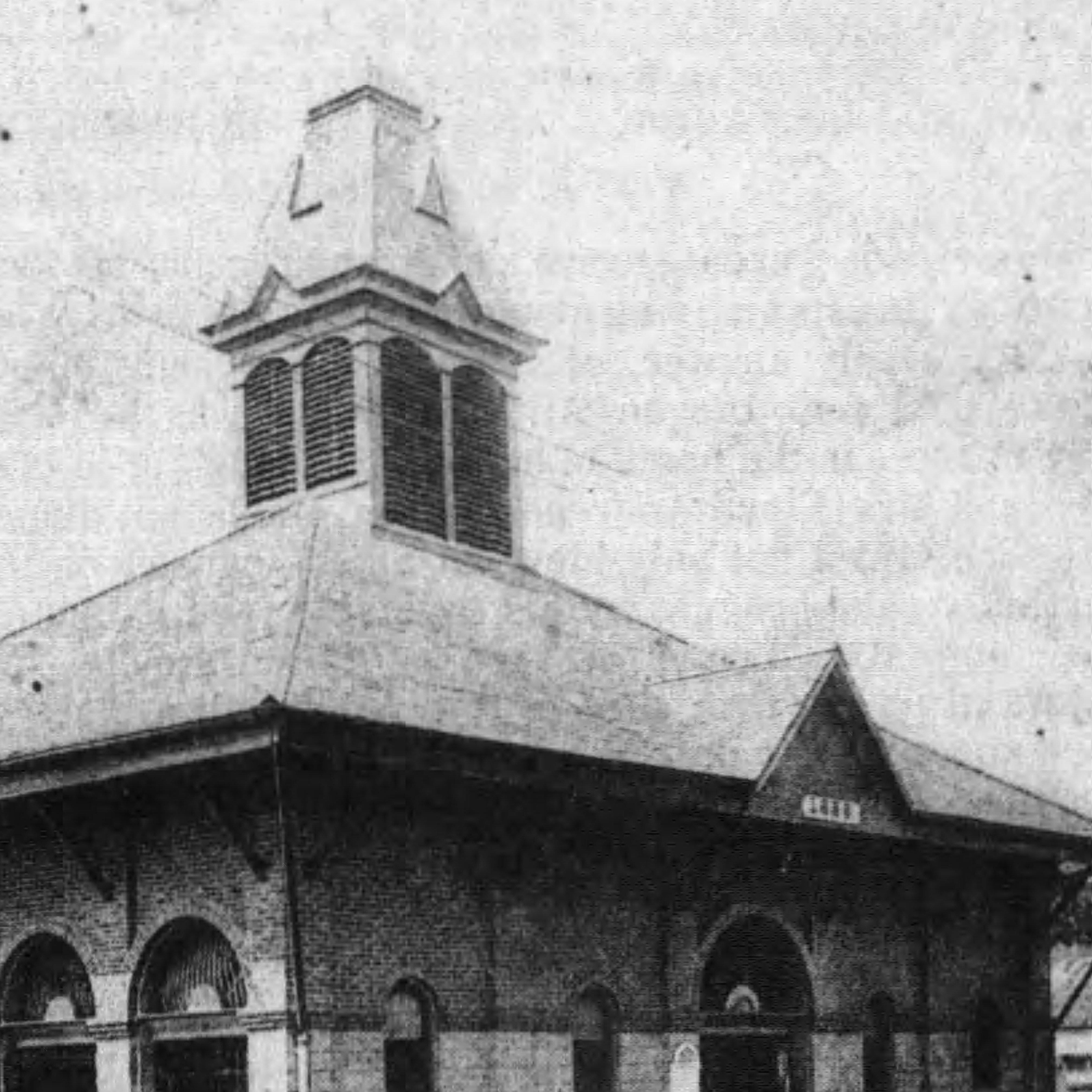 Opelousas Town Market in the early 1900s.