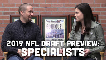 Jim Owczarski and Olivia Reiner discuss whether the Packers would look for Mason Crosby's future replacement in this year's draft.