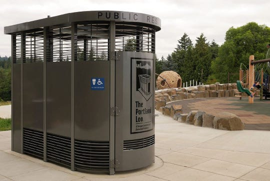 The city of La Quinta will soon install a restroom facility similar to the Portland Loo at the Cove Trailhead, in the parking lot at the top of the cove on Avenida Bermudas near Calle Tecate.