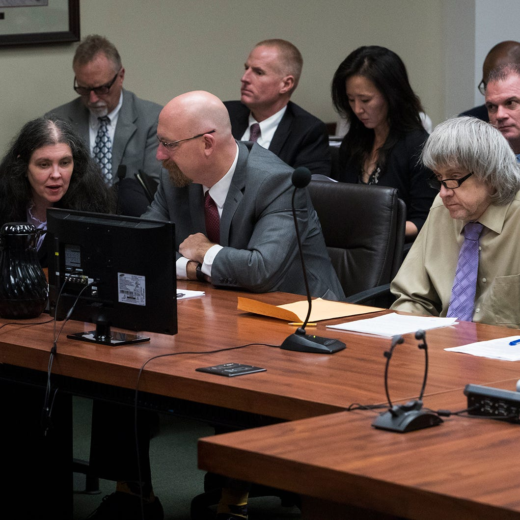 'House of horrors': California couple sentenced to life in prison for torturing their children
