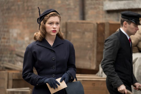 "Sophie Cookson plays a young Joan Stanley in ""Red Joan."""