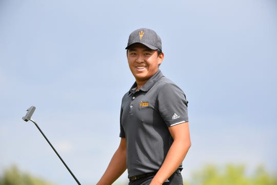 Junior Chun An Yu is ranked No. 5 nationally among Division I players for No. 2 ASU men's golf and a Ben Hogan Award semifinalist.