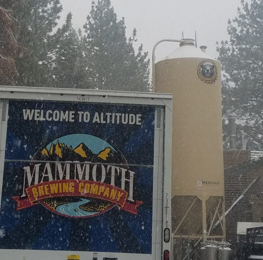 Mammoth Brewing Co. brews at an altitude of almost 8,000 feet in Mammoth, Calif., in the Sierra Nevada. Long winters can make shipping difficult.