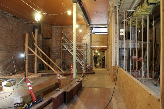 Renovation of the former Old Spaghetti Warehouse location in downtown Salem in March.