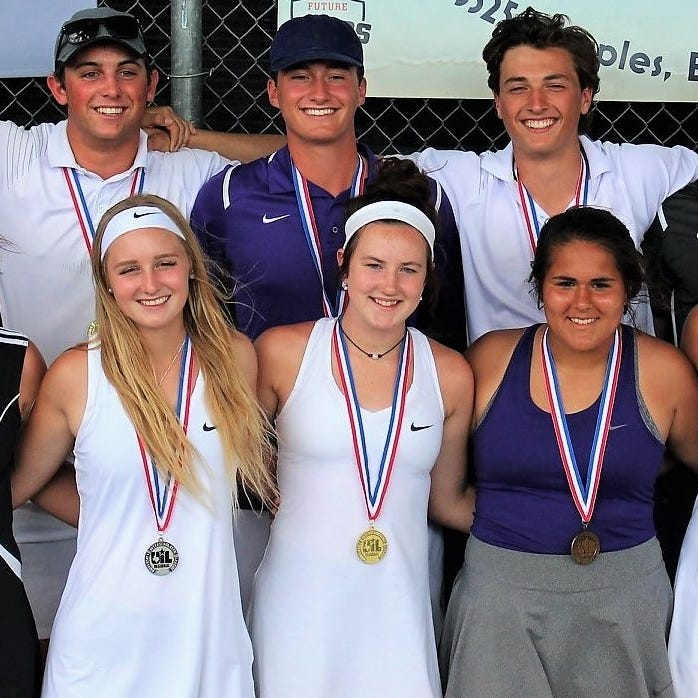 REGIONAL TENNIS: Mason wins four of five titles