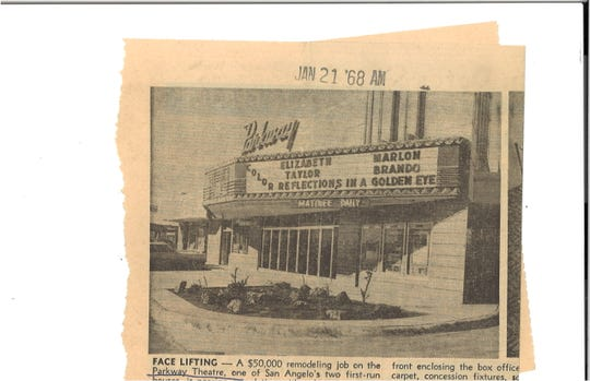 The Parkway Theatre became the home for Angelo Civic Theatre in 1980.