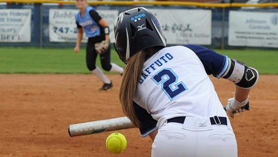 Airline's Baffuto does softball, not history, well