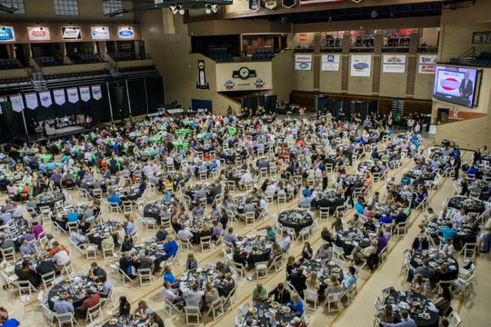 For sponsors and community members, the annual Legends for Kids banquet has become a night to remember.