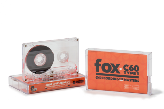 RecordingTheMasters' new Fox C-60 audiocassettes. The brand's parent company, France-based Mulann SA, began making them in September 2018. A Springfield-based company, National Audio, expects to introduce its own line of audiocassettes soon.
