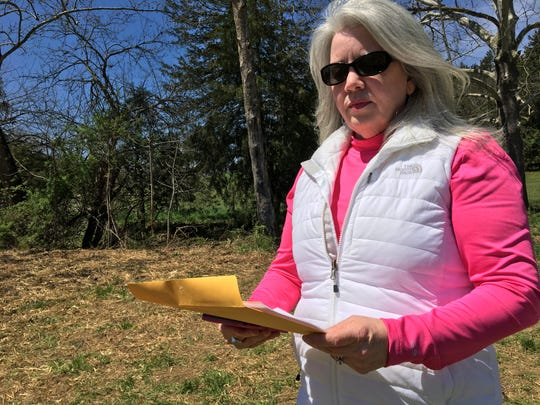 Robin Hawks wanted to find out what was going on in her neighborhood. So she started digging for herself and created a one sheet to share with her neighbors to explain what she had found.