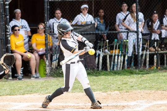 Mary Baldwin's Jordan Miller earned second team softball honors in the USA South's East Division.