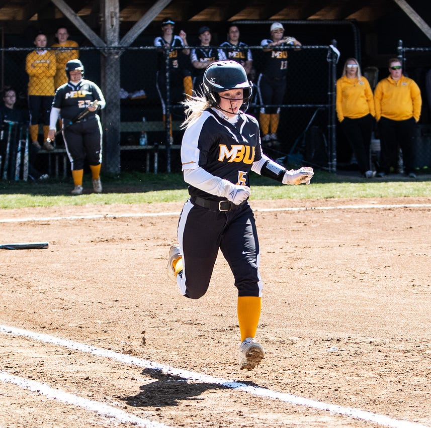 Cash, Miller earn all-conference honors for MBU softball