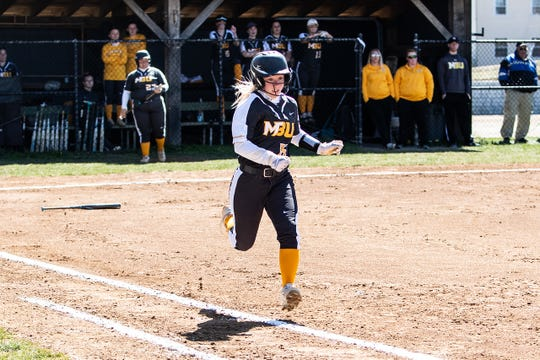 Former Riverheads standout Madison Cash, a Mary Baldwin sophomore,  earned second team softball honors in the USA South's East Division.