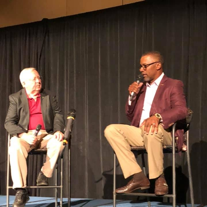 Panama City Seminole Club displays spirit, resolve during Taggart's visit