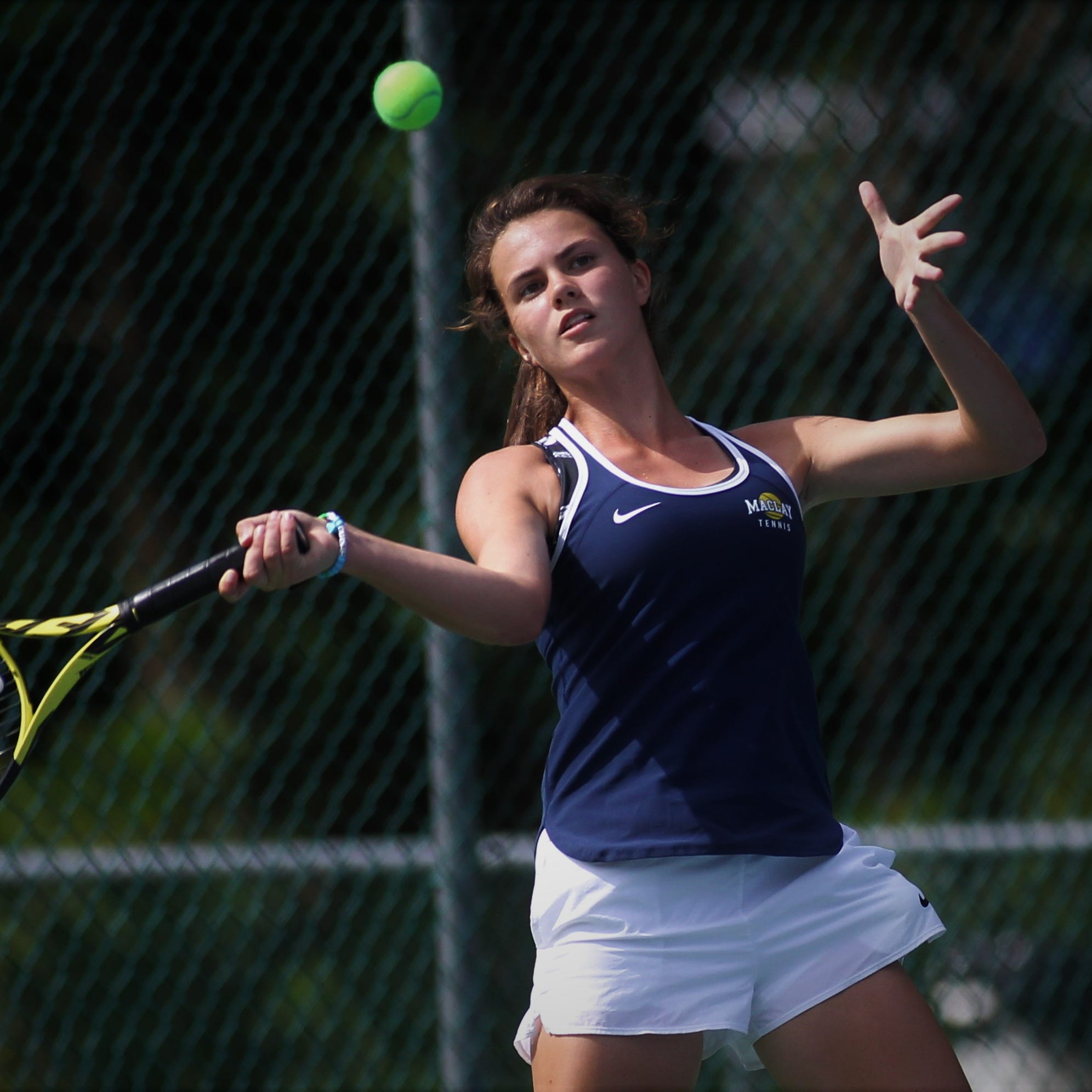 Perkins, Cicchetti help Maclay tennis pull off rare district sweep