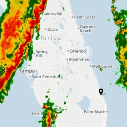 Hail, damaging winds, frequent lightning possible with afternoon storms
