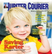 Jupiter Courier Newsweekly cover from July 21, 2016.