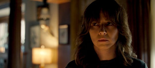 "This image released by Warner Bros. Pictures shows Linda Cardellini in a scene from ""The Curse of La Llorona."""