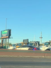 El Paso Police Department officers responded to a fatal accident on Interstate 10 East near Copia Street.