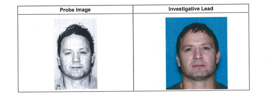 Photos of the fugitive suspect wanted by Pennsylvania State Police provided to the Simi Valley Police Department.